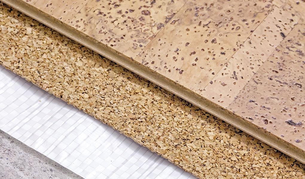 Sylvan Lake Cork Flooring Installation